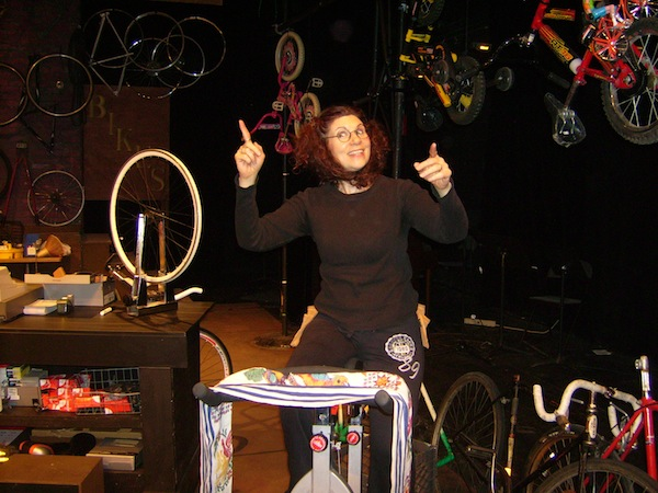 Liz Barkan Bike Shop The Musical 003